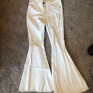 Free people bellbottom jeans